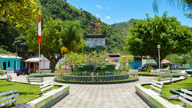 Plaza Principal de Vitoc